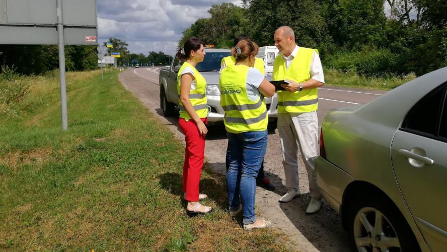 Обстеження автомобільних доріг у Львівській області