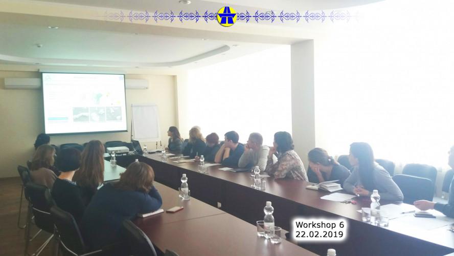 English spoken Workshops. The 6th meeting