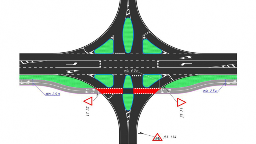 NATIONAL STANDARD FOR PLANNING AND DESIGN OF BICYCLE  INFRASTRUCTURE