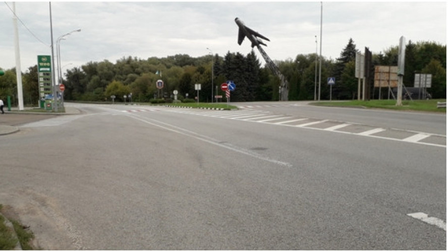 Inspection of highways in Rivne region