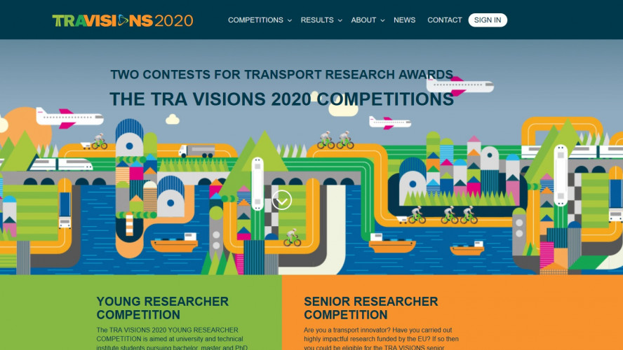 TRA VISIONS 2020 YOUNG RESEARCHER COMPETITION WEBINAR